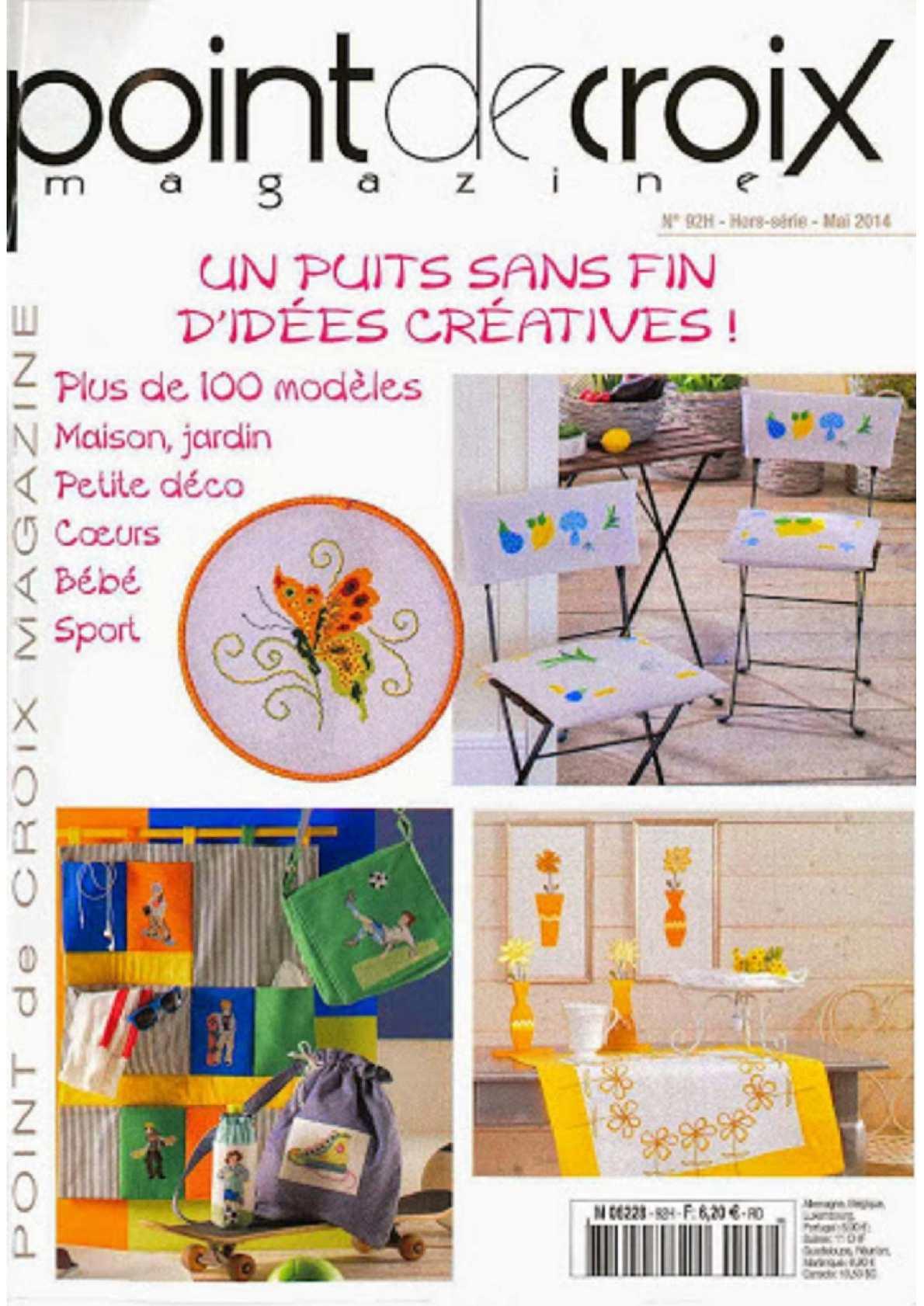 Calaméo - Point De Croix Magazine 2014 92 intérieur Maison Bebe Jardin