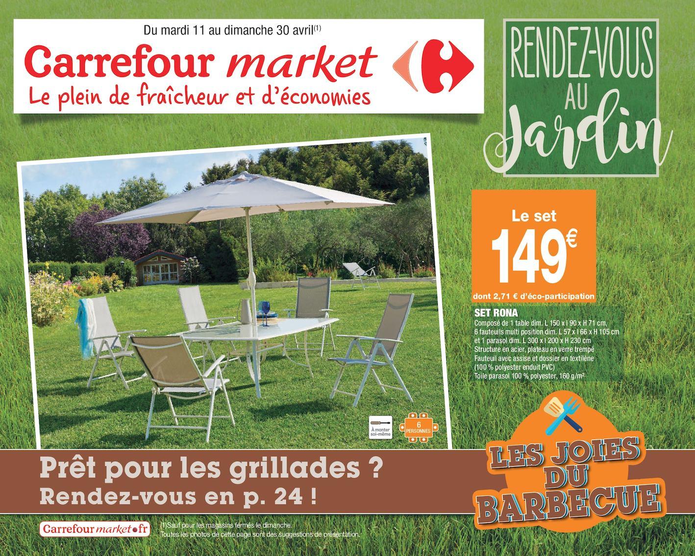 Calaméo - Rendez-Vous Au Jardin pour Table Et Chaise De Jardin Carrefour