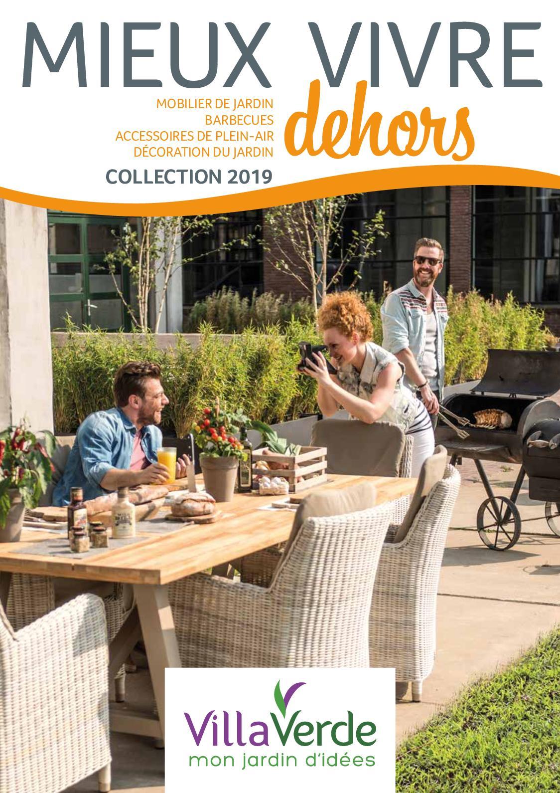 Calaméo - Villaverde Catalogue Mobilier De Jardin 2019 destiné Salon De Jardin Villaverde