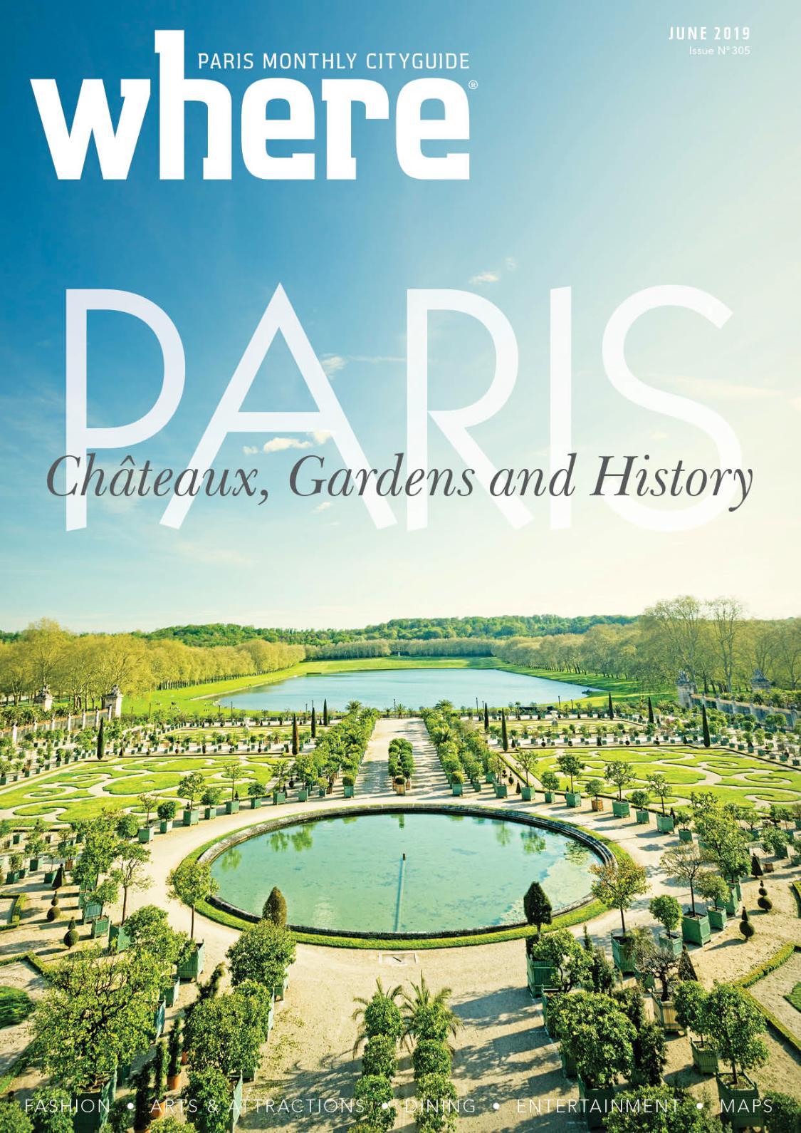 Calaméo - Where Paris June 2019 (#305) encequiconcerne Salon De Jardin Alice Garden