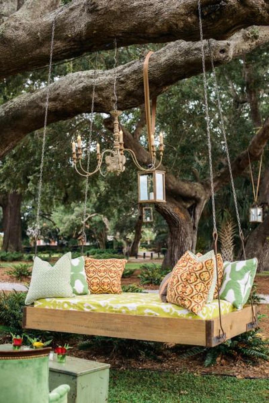 Canapés Swing (20 Photos): Nous Choisissons Des Meubles De ... tout Lit Suspendu Jardin