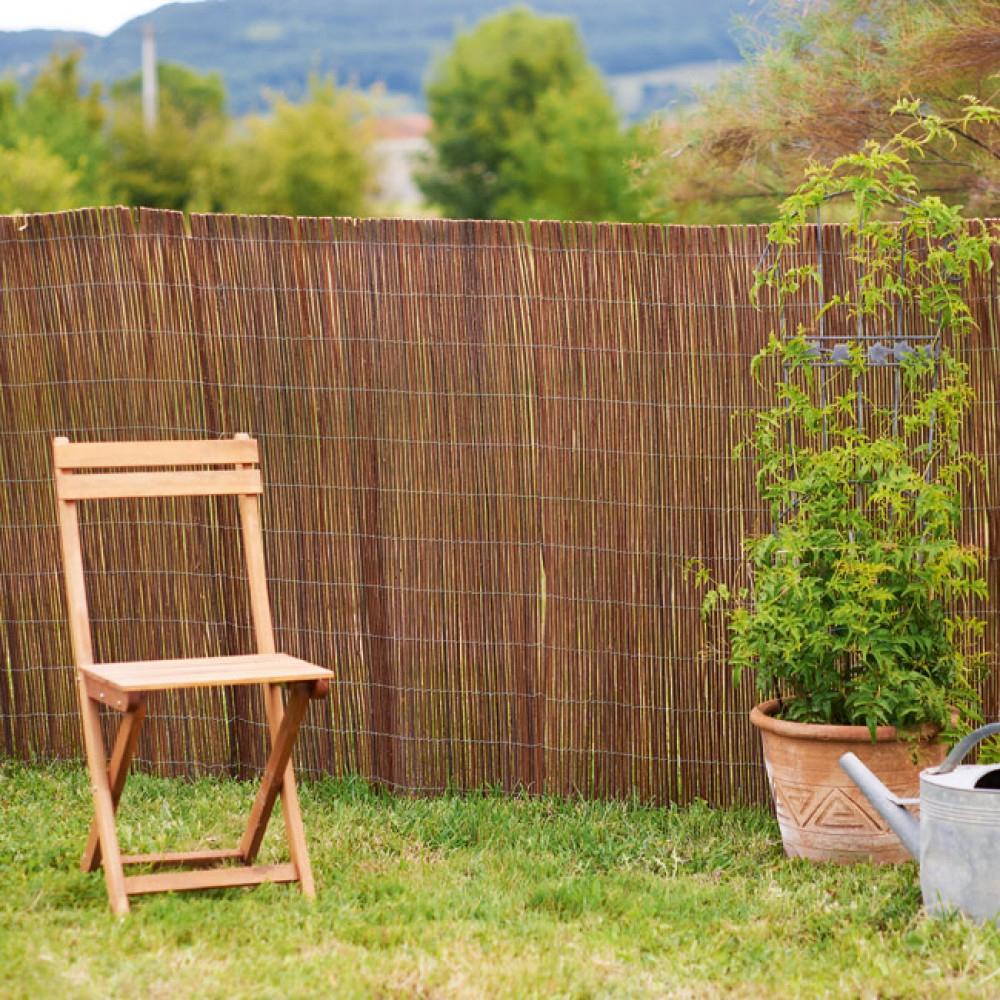 Canisse En Osier avec Bordure Jardin Pas Cher
