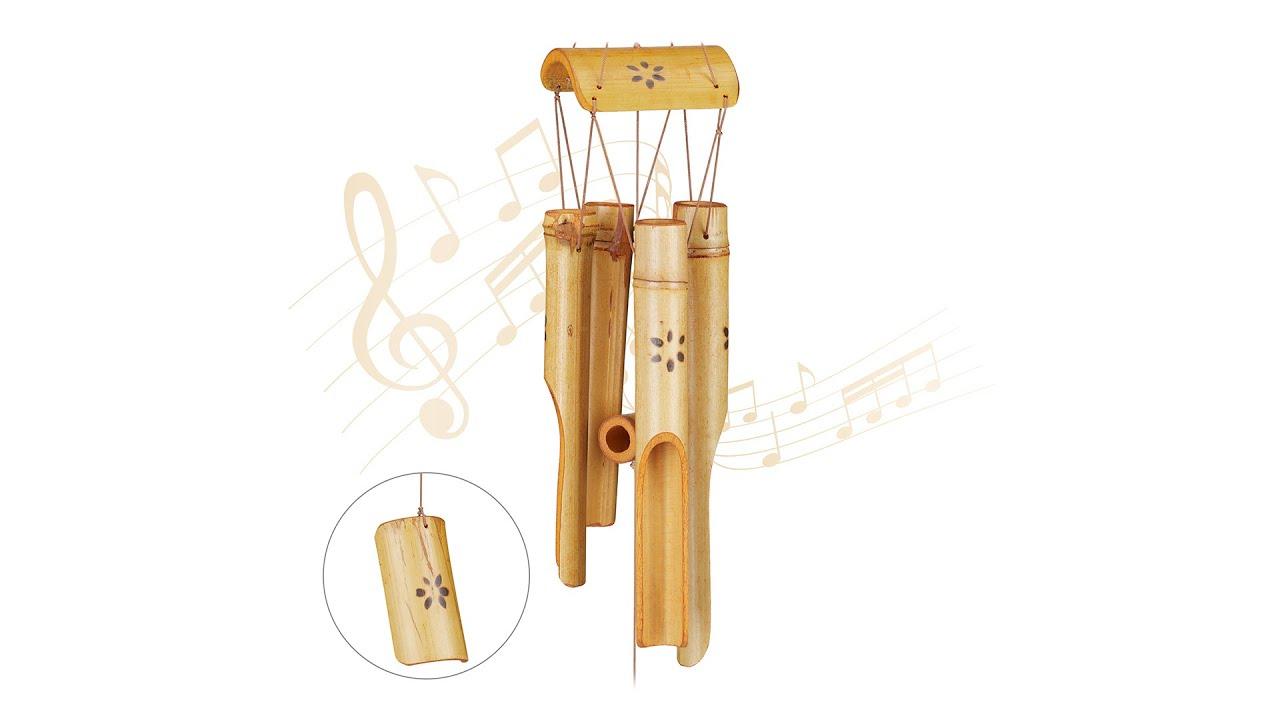 Carillon À Vent Bambou intérieur Carillon Bambou Jardin