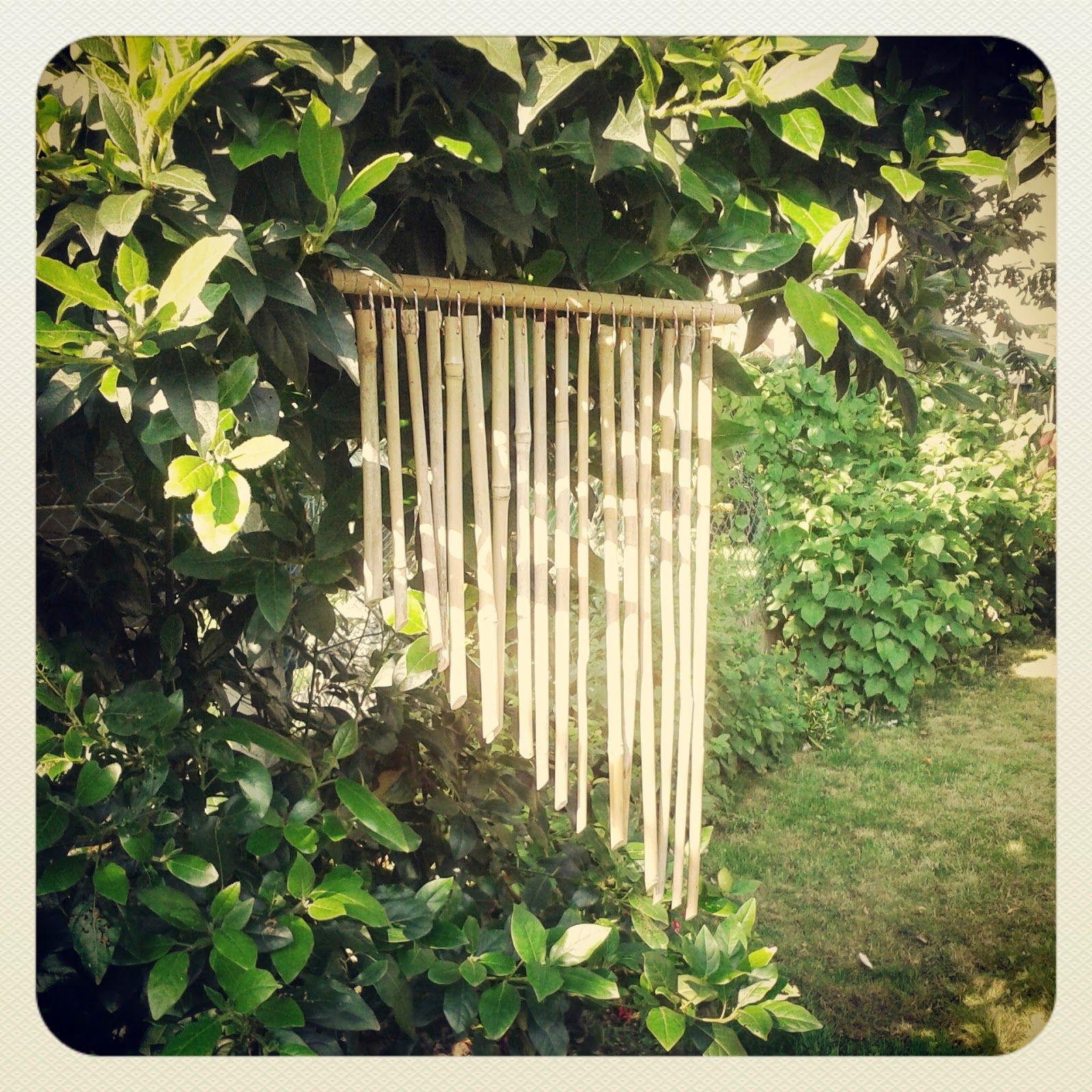 Carillon En Bambou | Idées Jardin, Bambou, Carillon Japonais pour Carillon Bambou Jardin