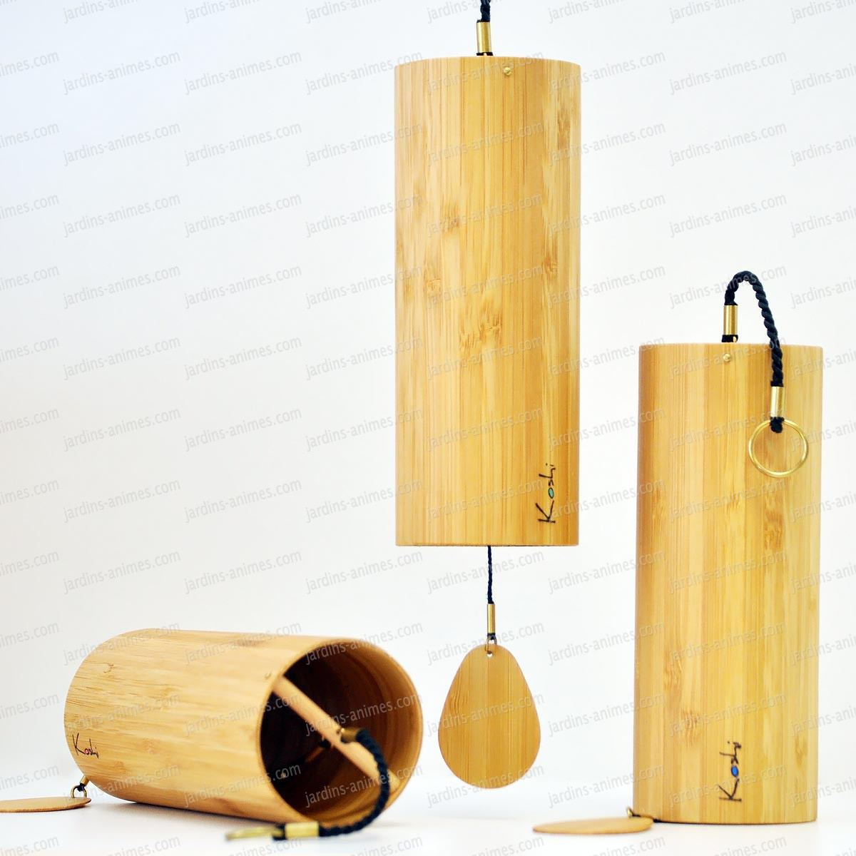 Carillon Koshi Aria tout Carillon Bambou Jardin