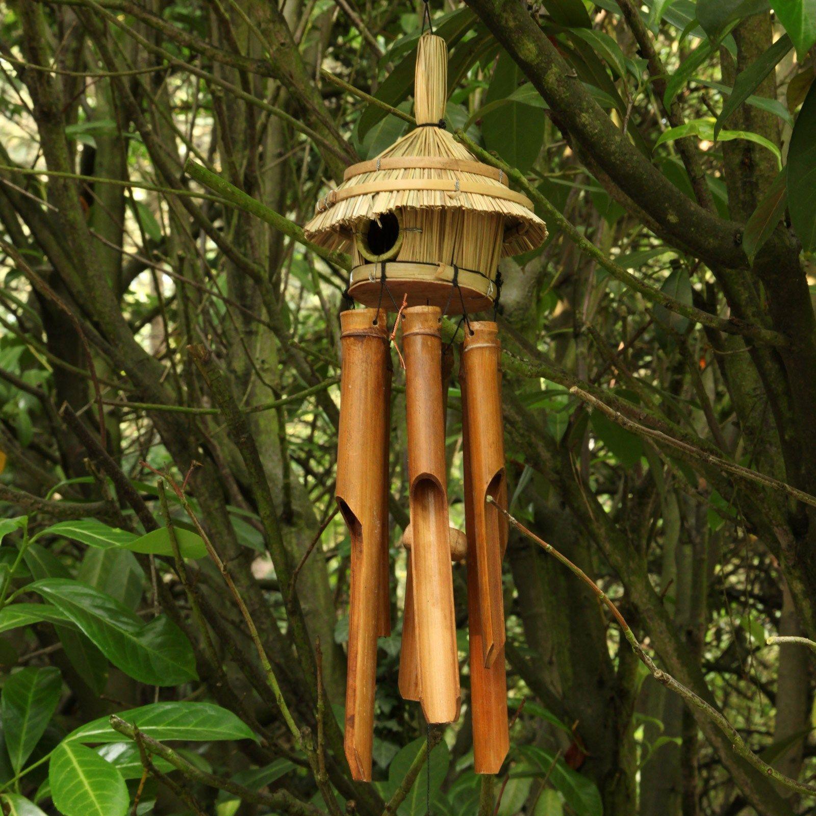 Carillon Vent Bambou - Une Superbe Décoration - 12,95 ... intérieur Carillon Bambou Jardin