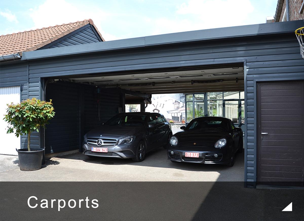 Carport En Bois : Abri Pour Voiture Sur Mesure | Concept ... dedans Abri De Jardin Belgique
