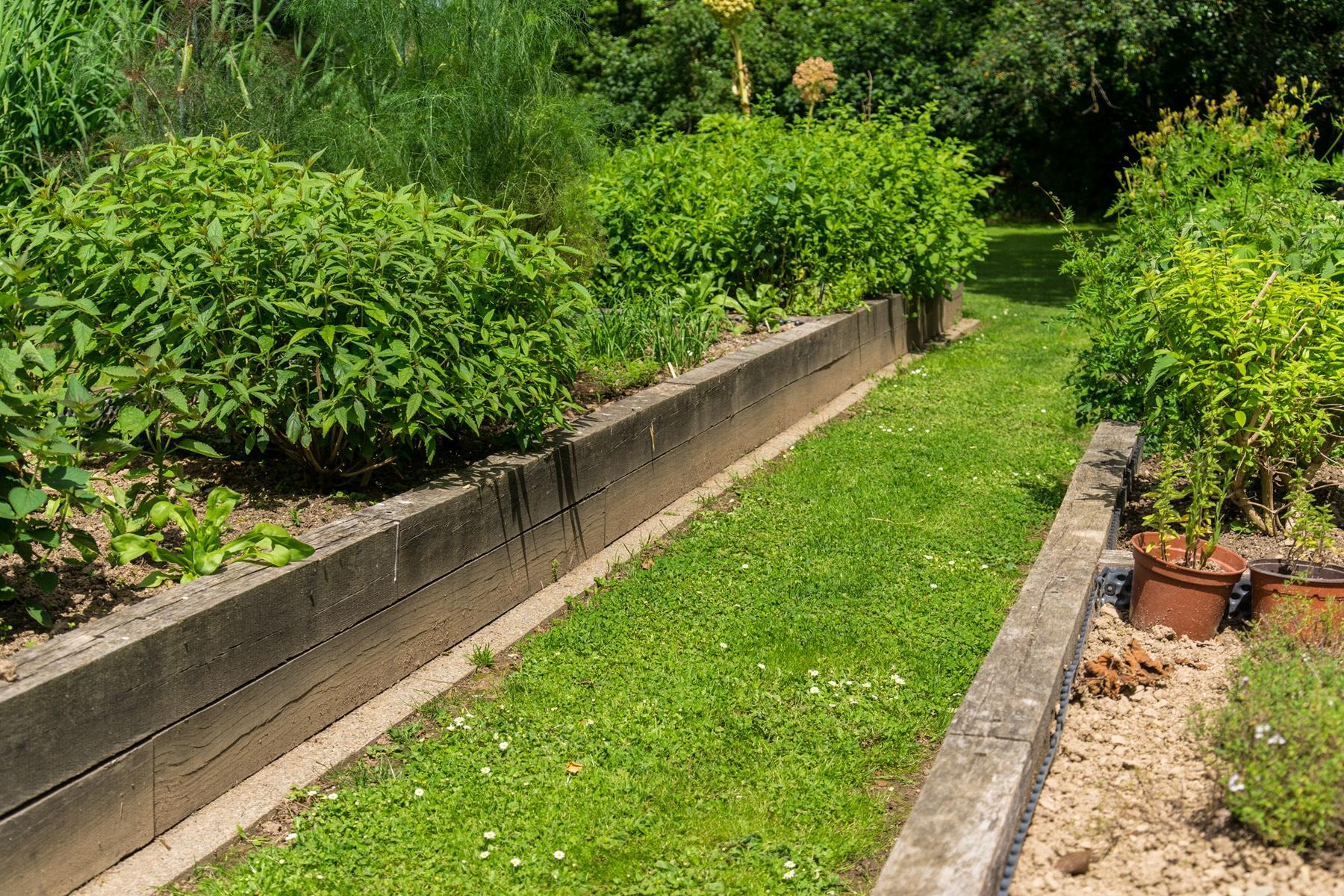 Carré Potager - Aménagement De Jardin Potager | Paysages Conseil concernant Jardin En Carre