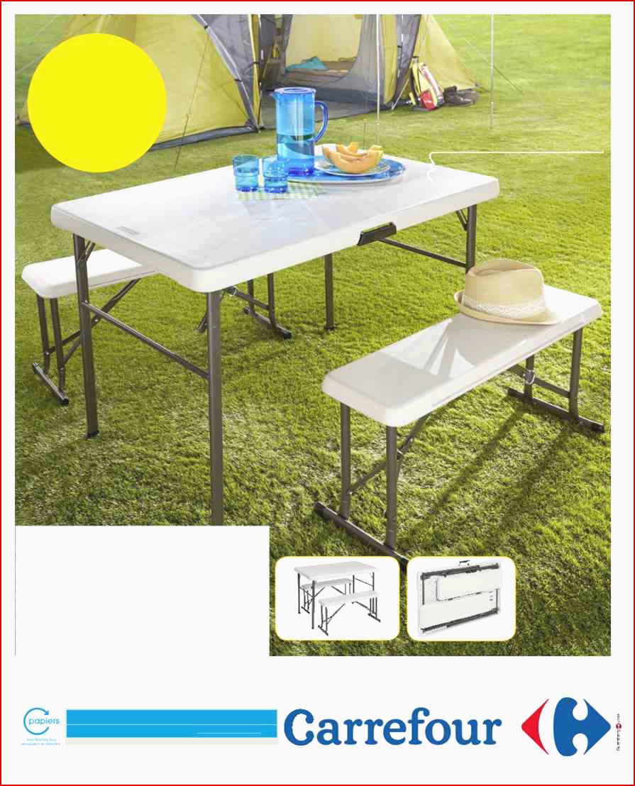 Carrefour Table Pliante Charmant Table Pliante Salon Élégant ... intérieur Fauteuil De Jardin Carrefour