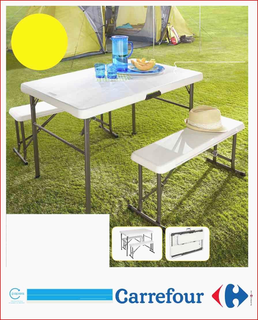 Carrefour Table Pliante Charmant Table Pliante Salon Élégant ... pour Table Et Chaise De Jardin Carrefour