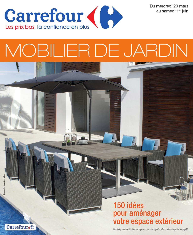 Carrefour_20.3-1.6-2013 By Proomo France - Issuu serapportantà Table De Jardin Pliante Carrefour