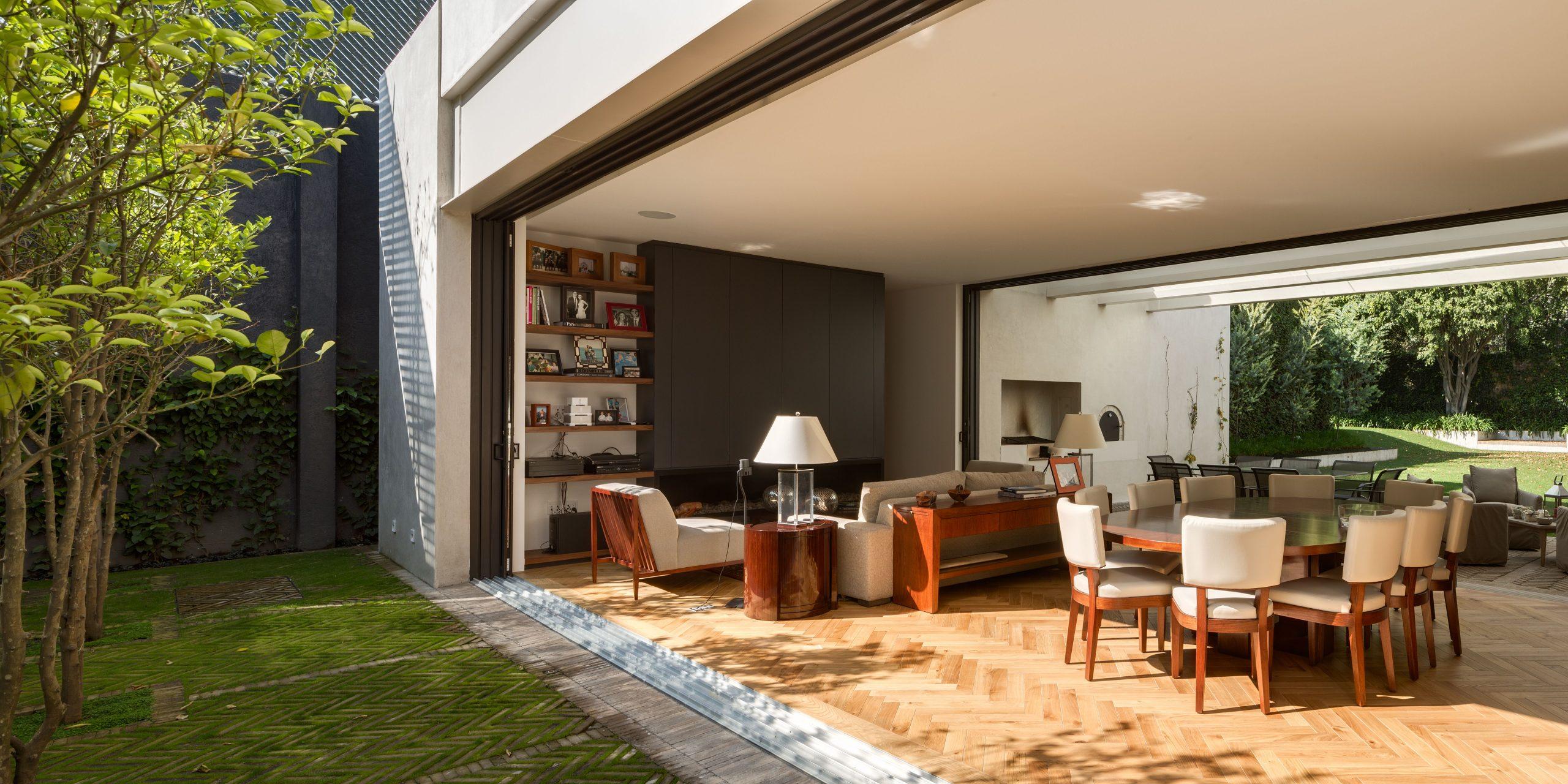 Casa Jardín 58 By Dcpp | Home, Garden, Modern Bungalow, Home avec Bungalow De Jardin Design