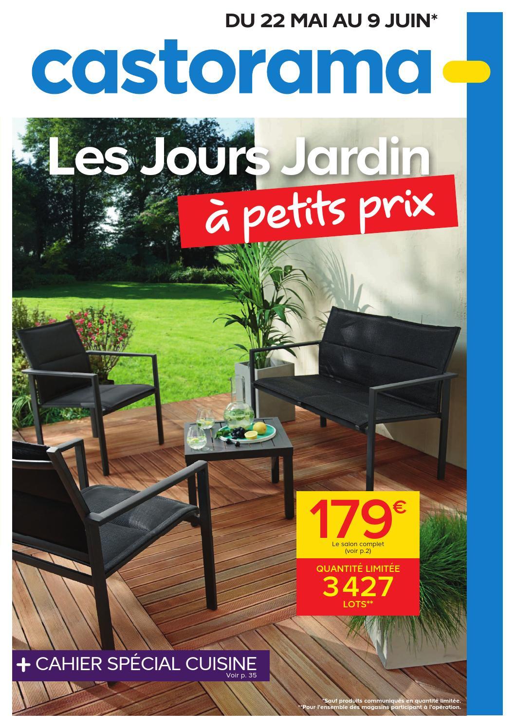Castorama Catalogue 22Mai 9Juin2015 By Promocatalogues ... intérieur Salon De Jardin Pas Cher Castorama