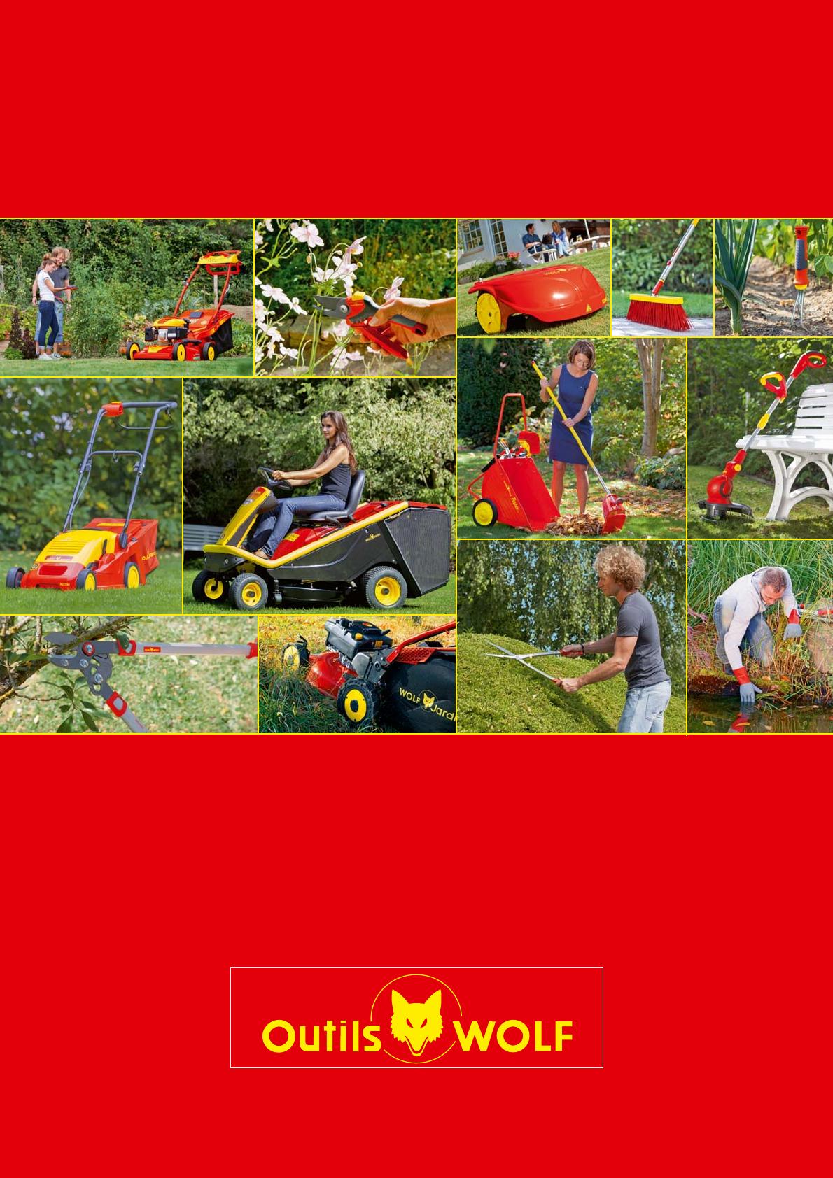 Catalogo Outils Wolf Jardin 2014 destiné Outil Wolf Jardin