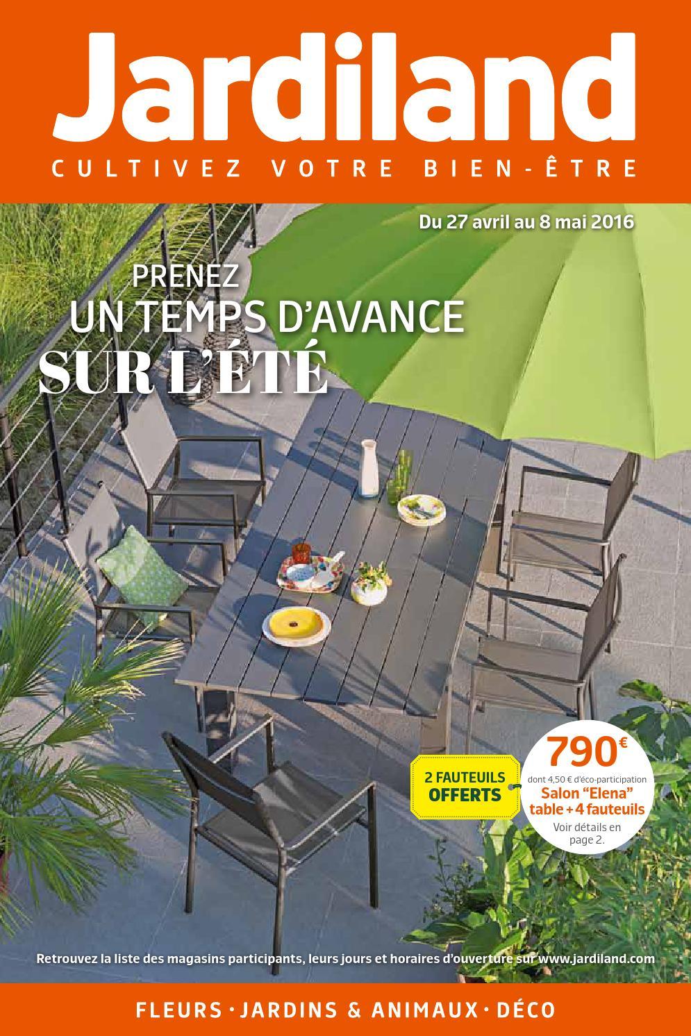 Catalogue 01 By Brienois - Issuu dedans Table De Jardin Aluminium Jardiland
