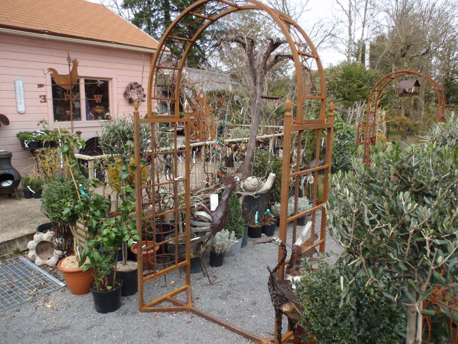 Catalogue à Arche De Jardin En Fer