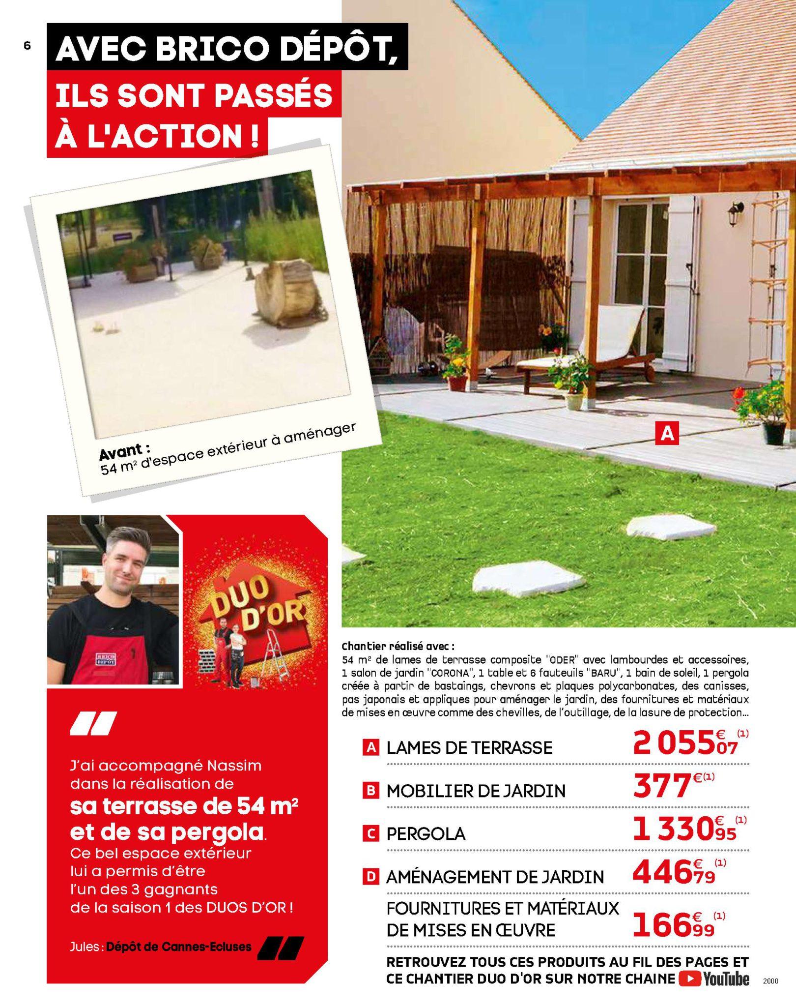 Catalogue Brico Dépôt 2019 & 2020 : L'officiel Du Bricolage ! ⋆ pour Brico Depot Salon De Jardin