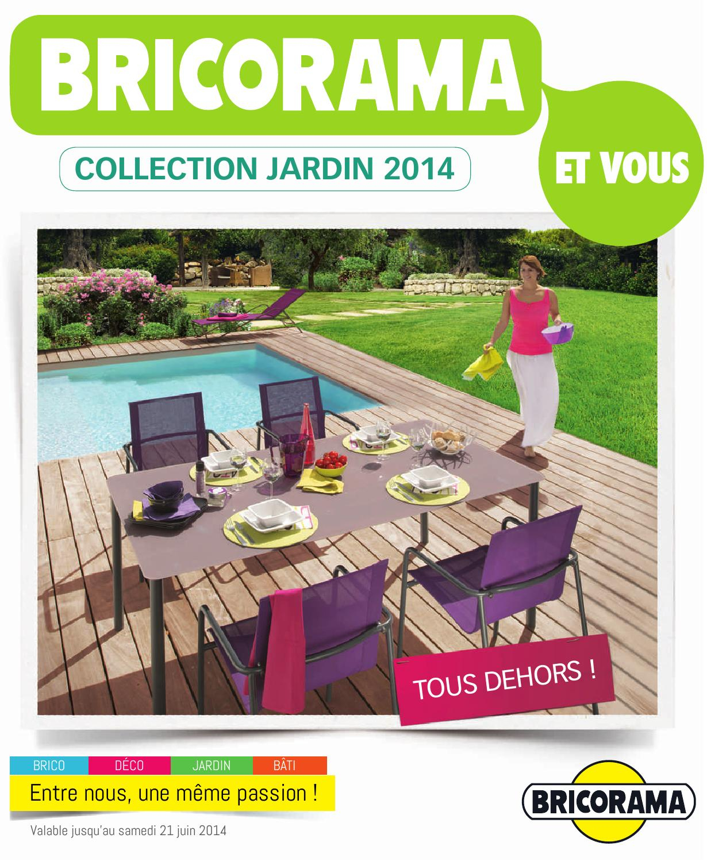 Catalogue Bricorama - Jardin 2014 By Joe Monroe - Issuu à Serre De Jardin Bricorama