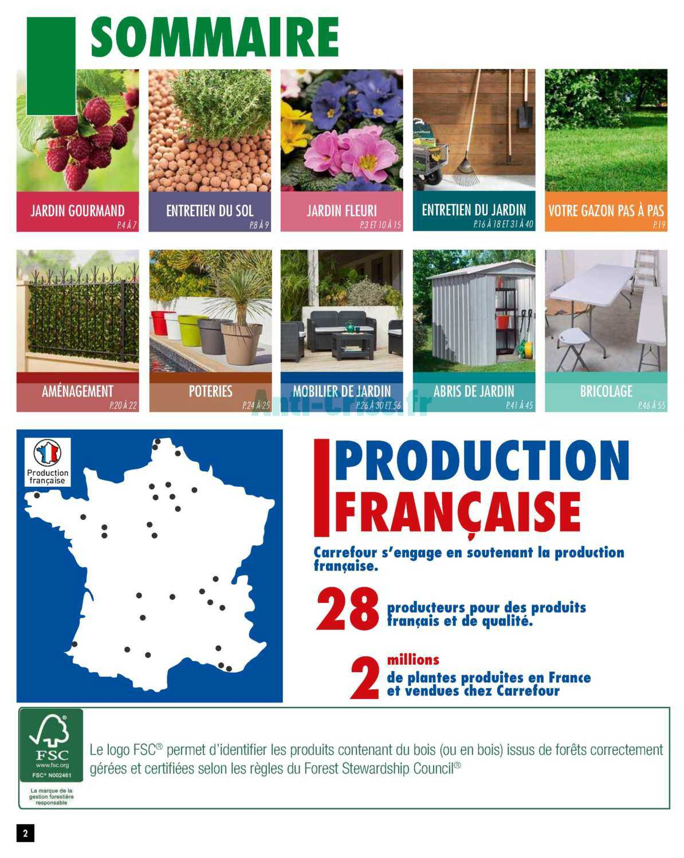 Catalogue Carrefour Du 01 Au 18 Mars 2019 (Jardin ... à Abris De Jardin Carrefour