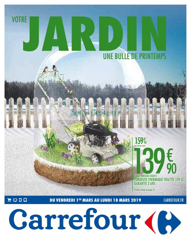 Catalogue Carrefour Du 01 Au 18 Mars 2019 (Jardin ... destiné Salon De Jardin Pas Cher Carrefour