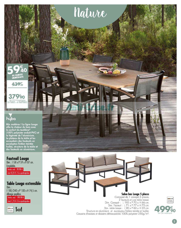 Catalogue Carrefour Du 19 Mars Au 27 Avril 2019 (Jardin ... serapportantà Balancelle Jardin Carrefour