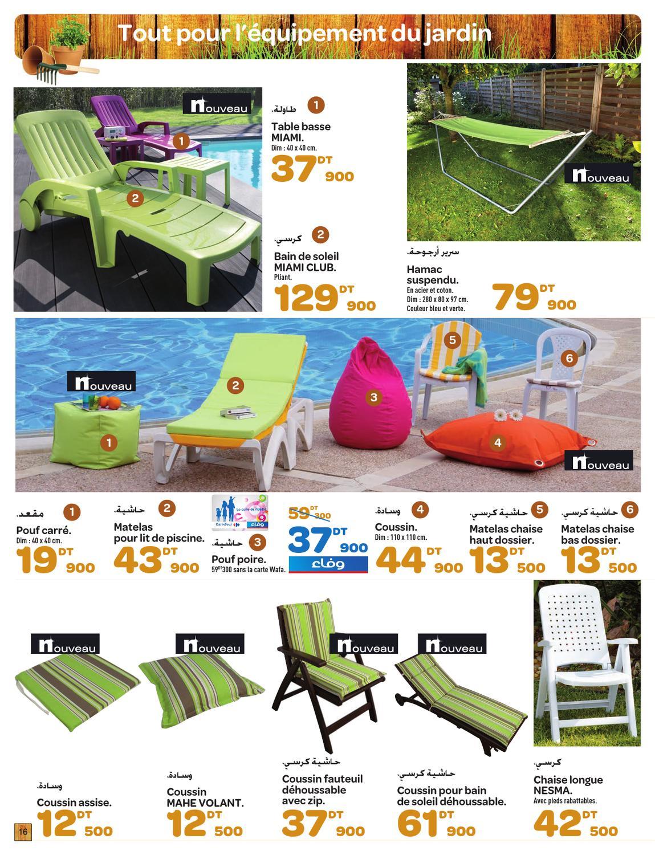 Catalogue Carrefour Le Bonheur À L'extérieur By Carrefour ... intérieur Transat Jardin Carrefour
