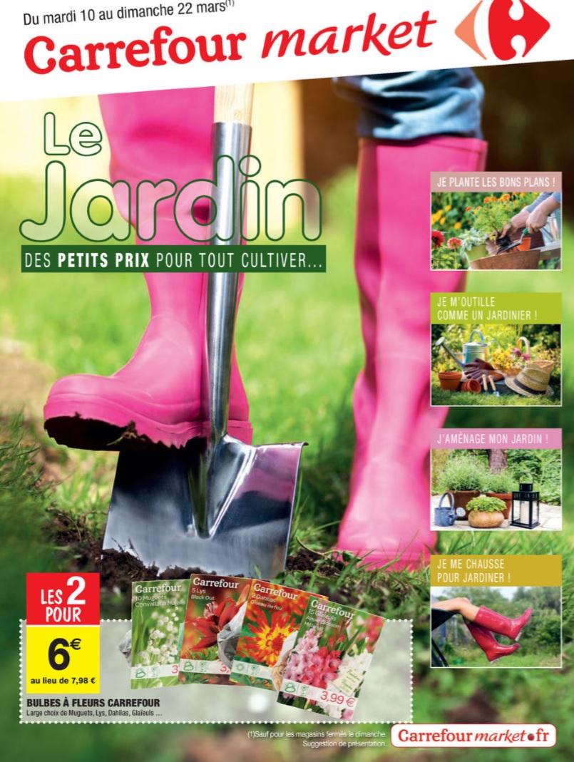 Catalogue Carrefour Market Jardin 10-22 Mars 2015 - Catalogue Az destiné Salon De Jardin Carrefour Market