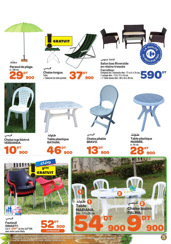 Catalogue Carrefour Market ( Promotions ) By Carrefour ... destiné Chaise Longue De Jardin Carrefour