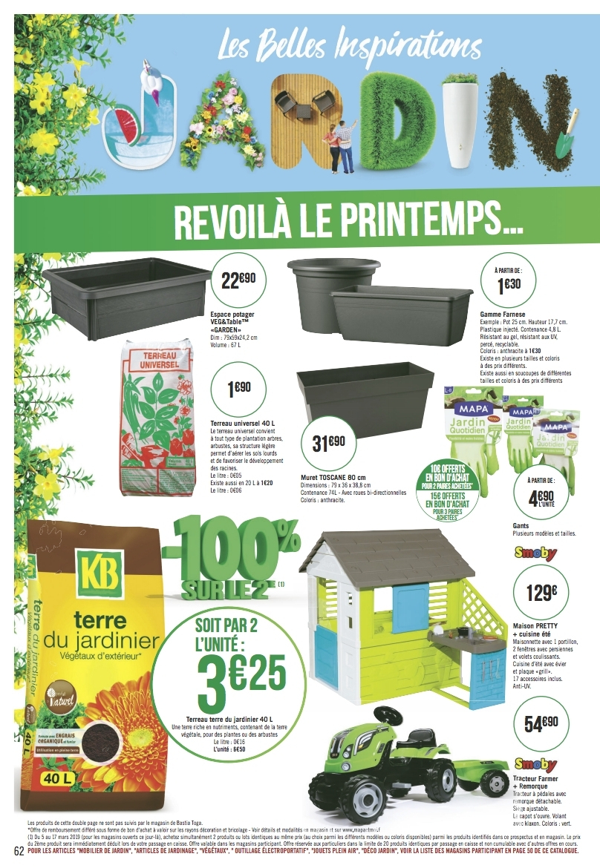Catalogue Casino Mobilier Et Outils De Jardin Du 5 Mars Au ... destiné Geant Casino Salon De Jardin