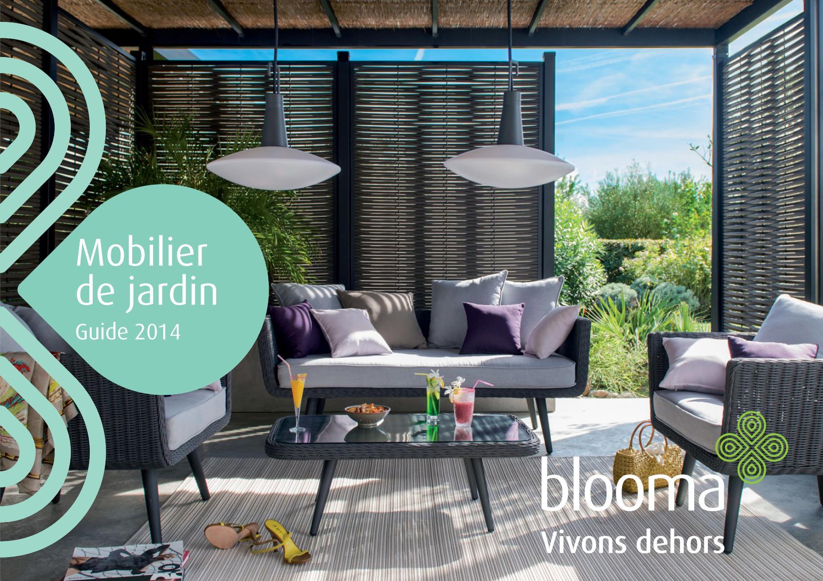 Catalogue Castorama Blooma Mobilier De Jardin 2014 ... à Table De Jardin Pliante Castorama