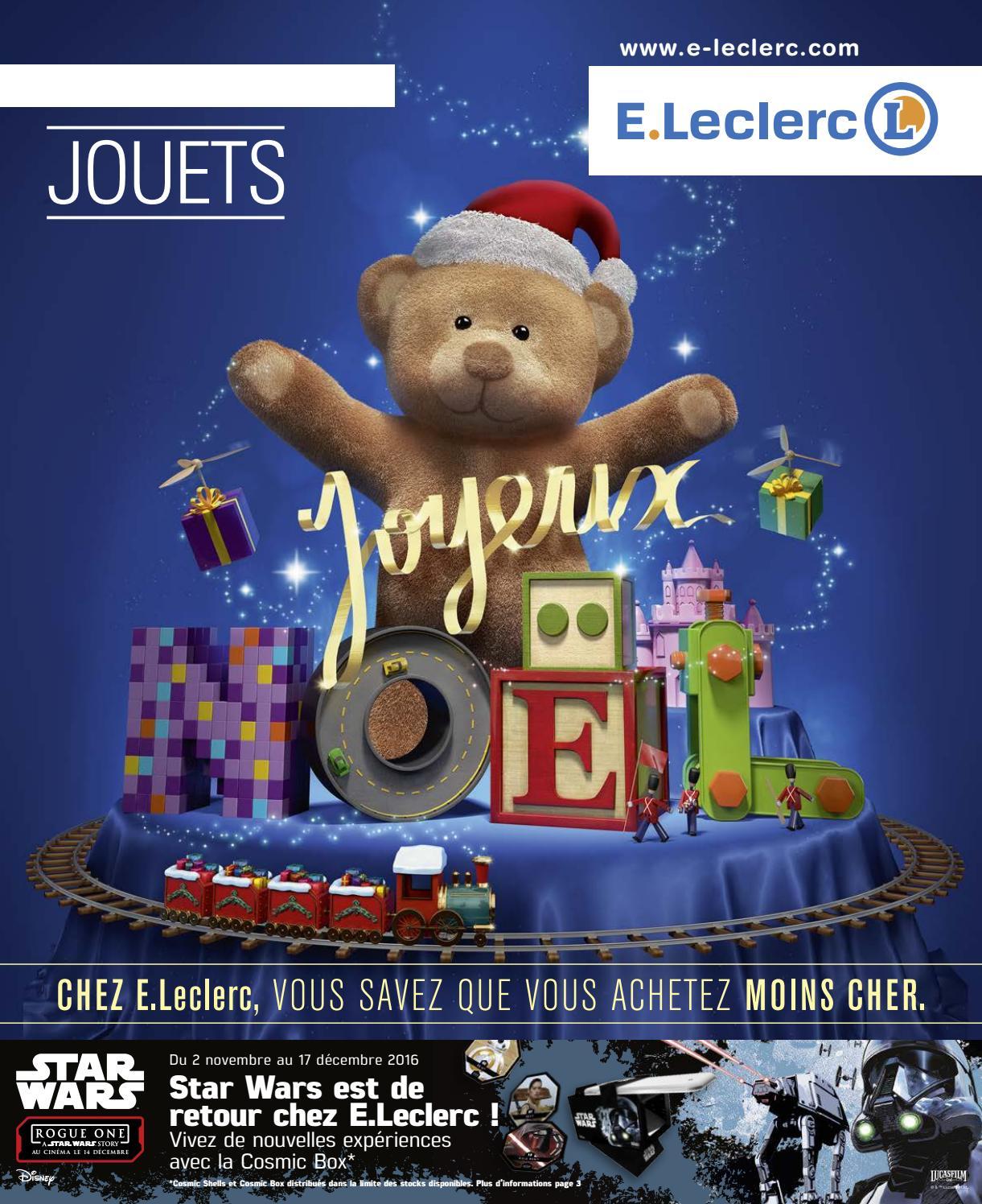 Catalogue E. Leclerc Spécial Jeux Et Jouets Noël 2016 By Lsa ... concernant Balancelle De Jardin Leclerc