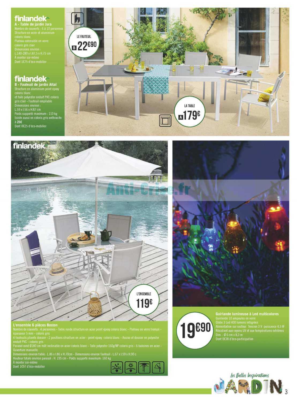 Catalogue Géant Casino Du 02 Au 28 Avril 2019 (Jardin ... concernant Table De Jardin Geant Casino