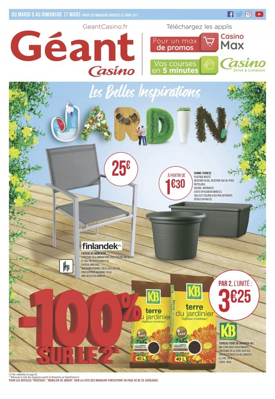 Catalogue-Géant-Casino-Jardin-Du-5-Mars-Au-17-Mars_Page_1 ... tout Geant Casino Salon De Jardin