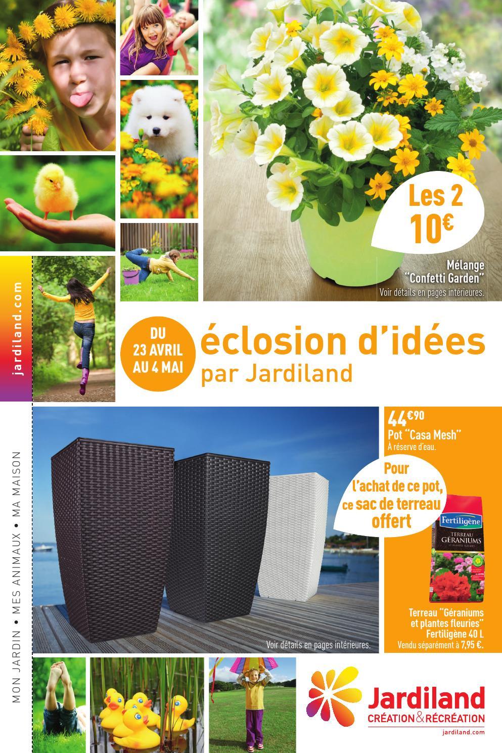 Catalogue Jardiland - 23.04-4.05.2014 By Joe Monroe - Issuu intérieur Chariot De Jardin Jardiland