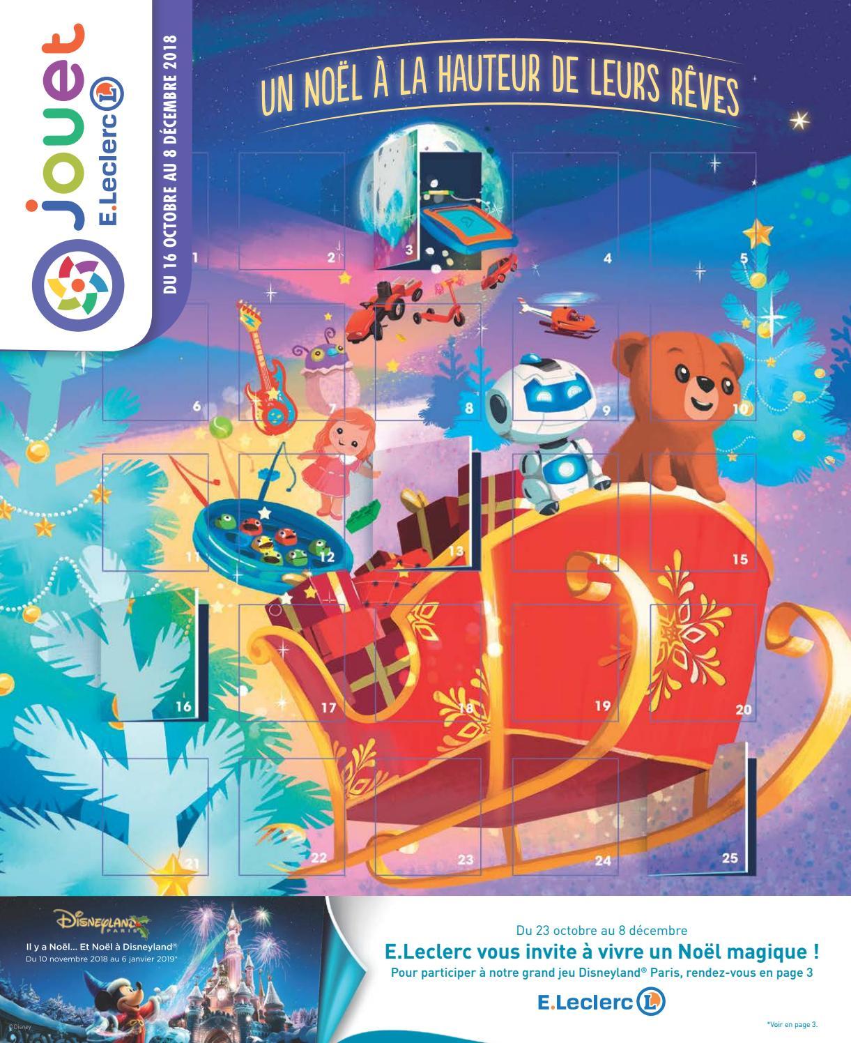 Catalogue Jouets Noël 2018 - Jouet E.leclerc By Yvernault ... dedans Balancelle De Jardin Leclerc