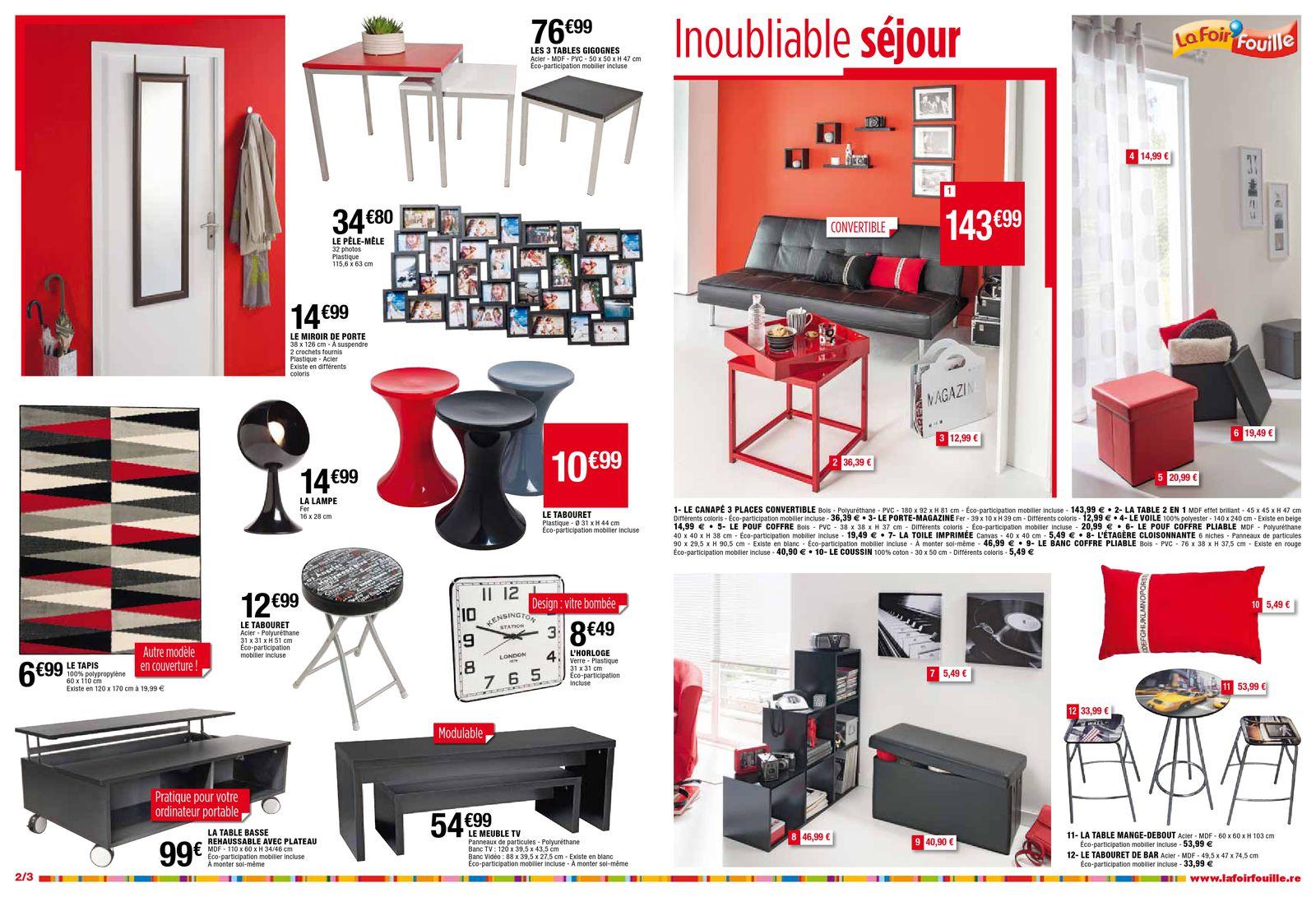 Catalogue La Foir Fouille Douceur Dco Joe Monroe Issuu Dans ... dedans Foir Fouille Salon De Jardin
