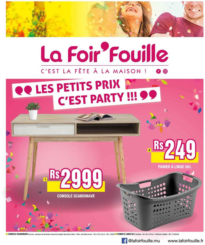 Catalogue La Foirfouille - Table Basse La Foir Fouille ... intérieur Foir Fouille Salon De Jardin