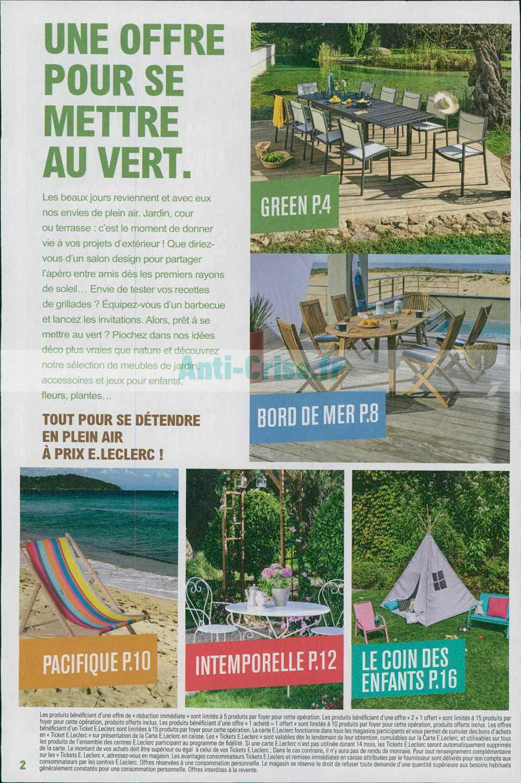 Catalogue Leclerc Du 02 Au 13 Avril 2019 (Jardin ... pour Salon De Jardin Leclerc Catalogue