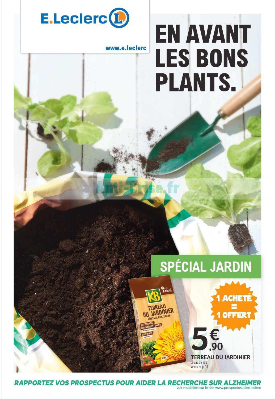Catalogue Leclerc Du 05 Au 17 Mars 2019 (Jardin ... tout Tondeuse Leclerc Jardin