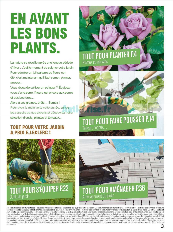 Catalogue Leclerc Du 12 Au 23 Février 2019 (Jardin ... avec Salon De Jardin Leclerc Catalogue