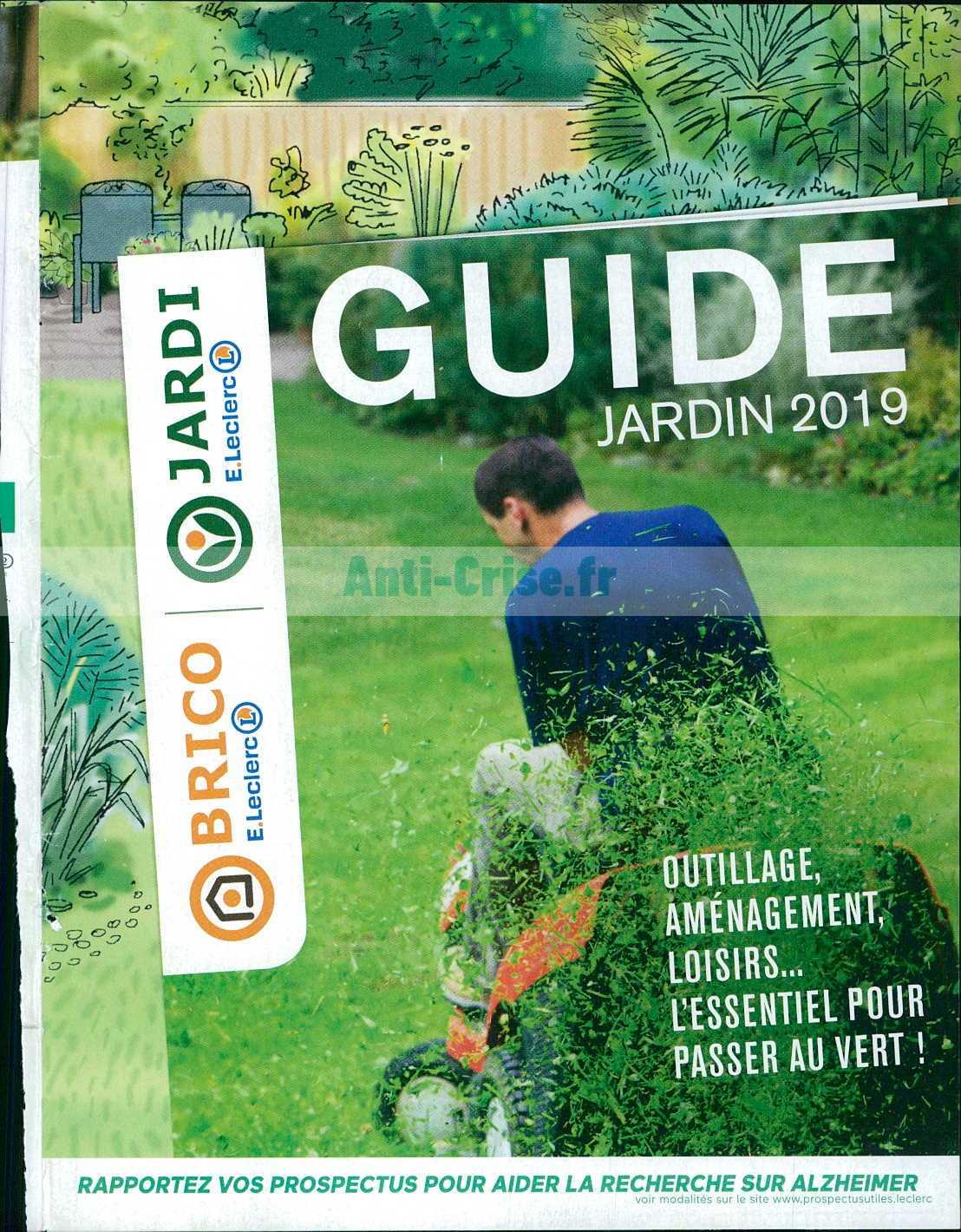 Catalogue Leclerc Du 26 Février Au 06 Avril 2019 (Guide ... pour Salon De Jardin Leclerc Catalogue