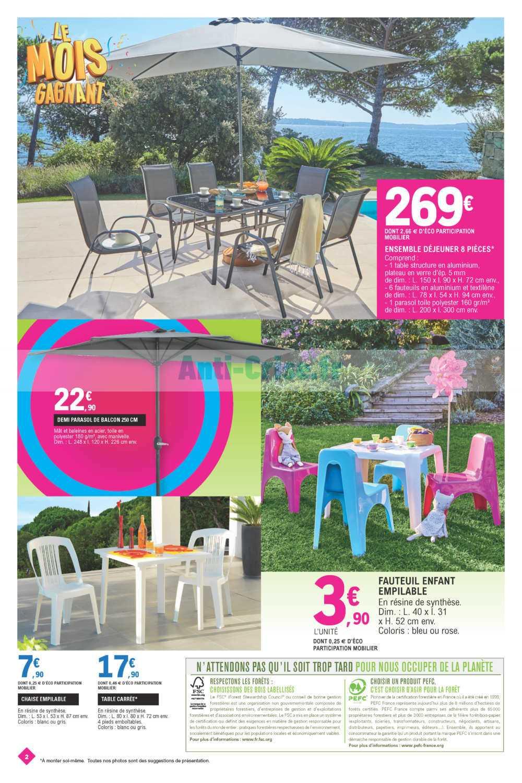 Catalogue Leclerc Du 30 Avril Au 11 Mai 2019 (Centre-Ouest ... avec Table Et Chaises De Jardin Leclerc