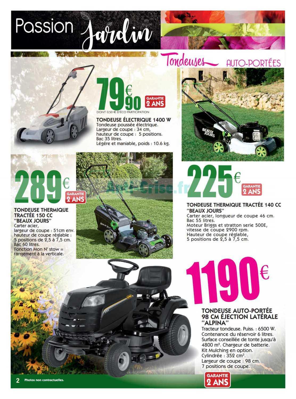 Catalogue Leclerc Local Du 04 Au 14 Mars 2020 (Eauze ... concernant Tondeuse Leclerc Jardin