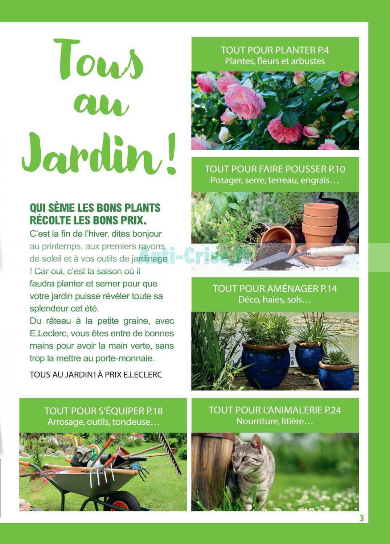 Catalogue Leclerc Local Du 10 Au 21 Mars 2020 (Saint-Aunès ... à Tondeuse Leclerc Jardin