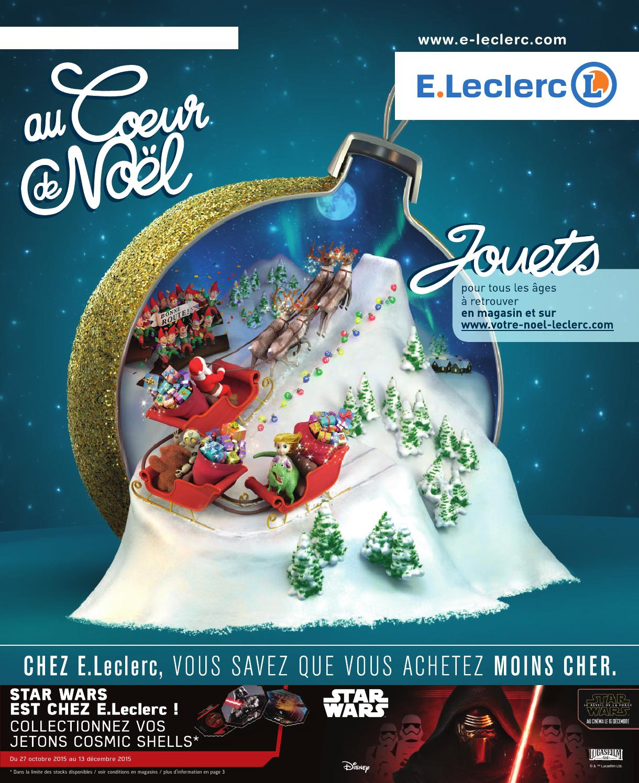 Catalogue Leclerc Spécial Jeux Et Jouets Noël 2015 By Margot ... serapportantà Balancelle De Jardin Leclerc