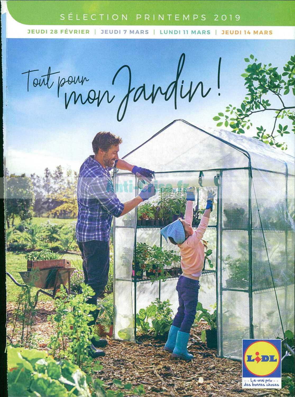 Catalogue Lidl Du 28 Février Au 14 Mars 2019 (Jardin ... dedans Serre De Jardin Florabest