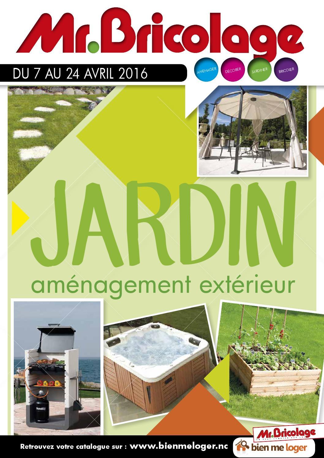 Catalogue Mr Bricolage: Jardin By Skazy - Issuu à Abri Jardin Mr Bricolage