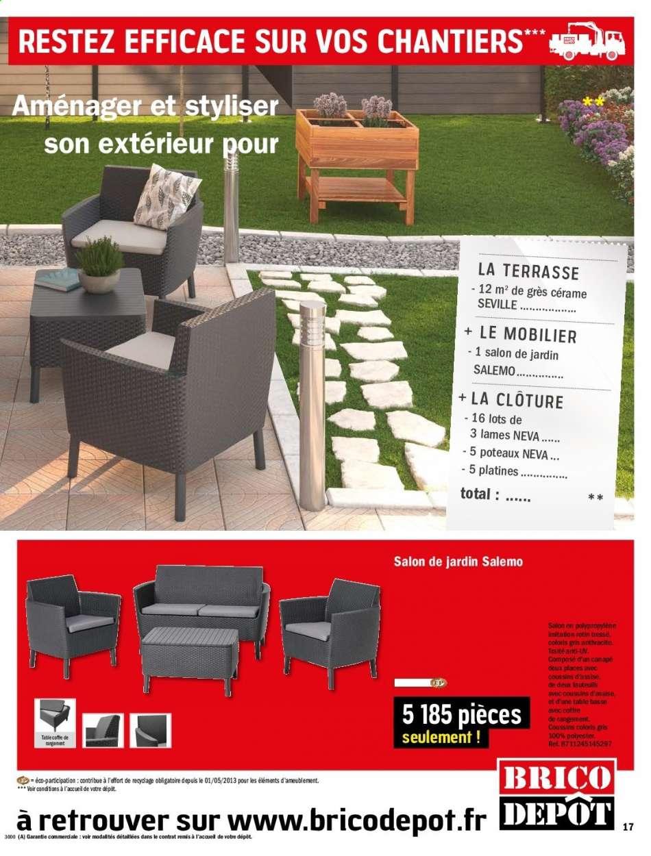 Catalogue, Prospectus, Pub Brico Dépôt 06.03.2020 - 26.03 ... concernant Coffre Jardin Brico Depot