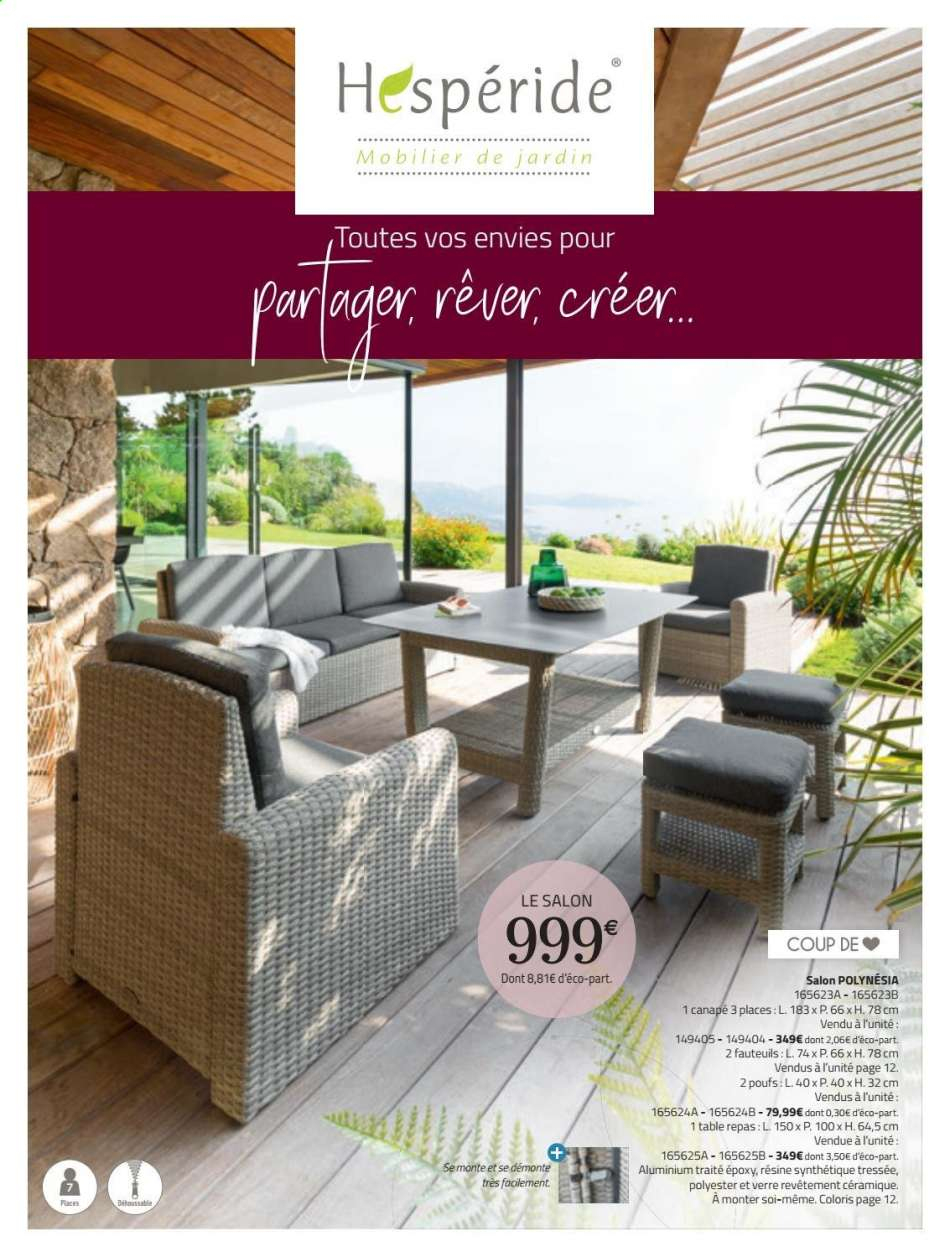 Catalogue, Prospectus, Pub La Foir'fouille 11.03.2020 ... dedans Foir Fouille Salon De Jardin