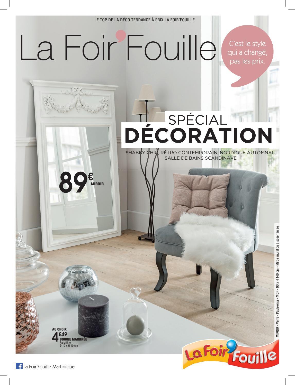 Catalogue Spécial Décoration By La Foir'fouille - Issuu concernant La Foir Fouille Salon De Jardin